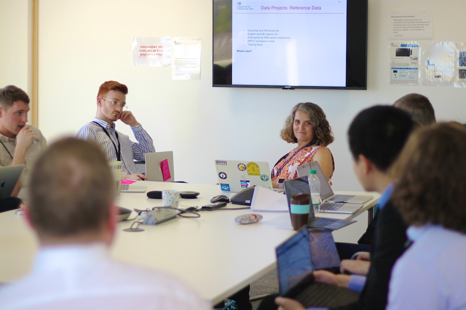 Meeting chaired by Chief Data Officer, Sian