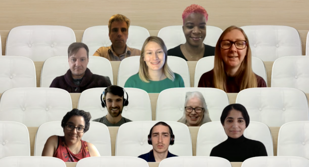 Members of the user research community at DIT